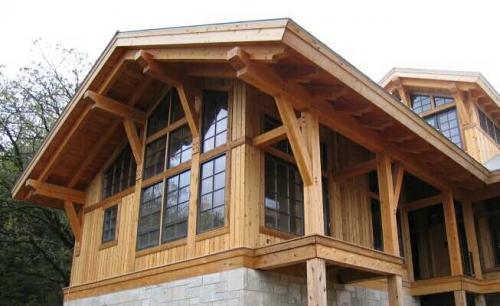 Окна для второго этажа деревянного дома. Технологии возведения второго этажа