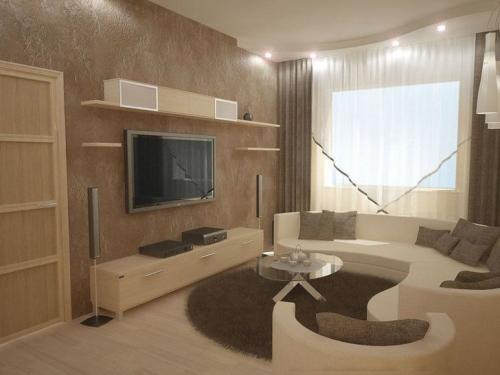 Окна в стиле хай тек. Мебель и декор