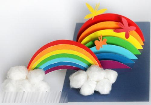 Поделки своими руками для детей из бумаги и картона