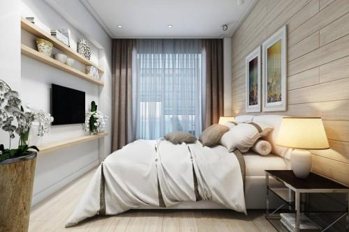 Планировка длинной узкой комнаты. Дизайн прямоугольной спальни